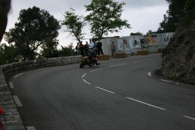 Course de côte de Gattières... vue de l'intérieur