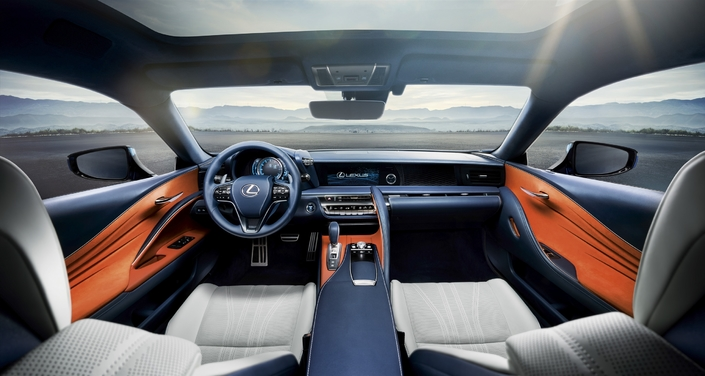 Lexus LC Blue Edition: une nouvelle peinture sophistiquée et… onéreuse