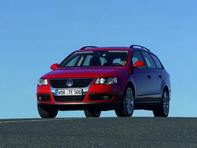 Salon de Genève 2008/Volkswagen : Passat Estate TSI Ecofuel et Sharan BlueMotion
