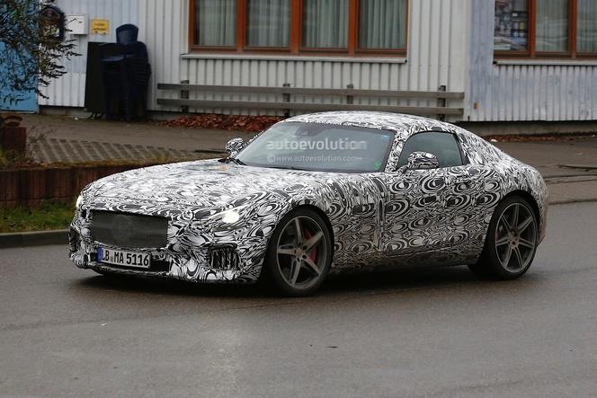 Future Mercedes AMG GT : pas de V6 mais des V8