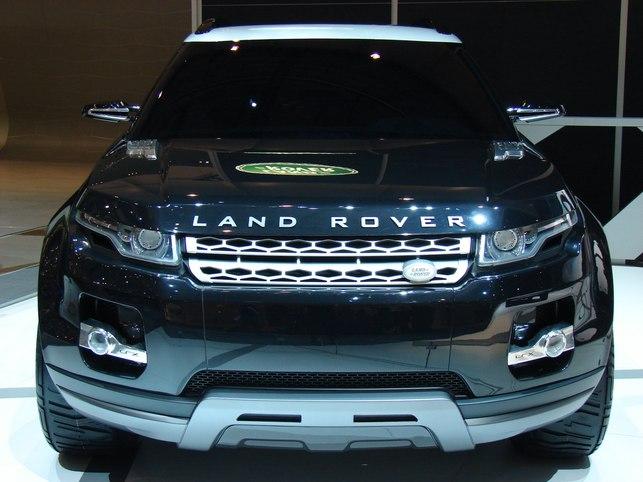 Salon de Genève 2008 : le Concept Land Rover LRX Black & White !