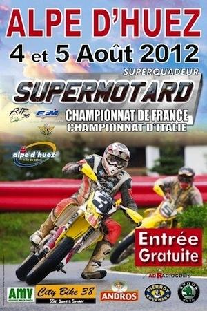 Supermotard, Alpe d'Huez 2012: le choc des titans c'est ce week-end
