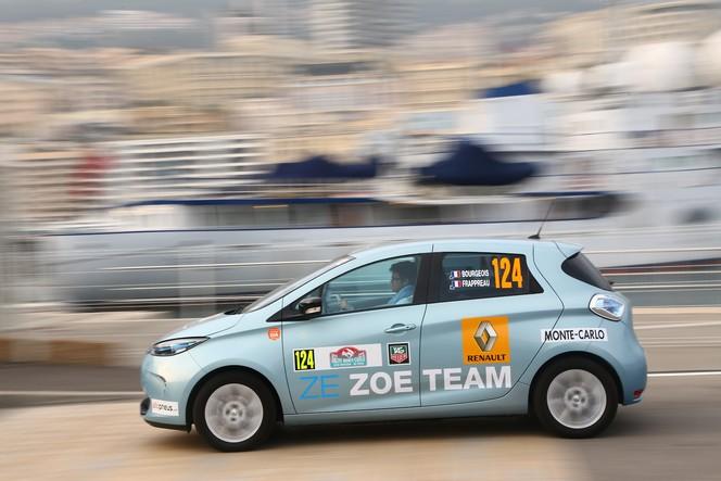 La Renault Zoé remporte un Monte-Carlo
