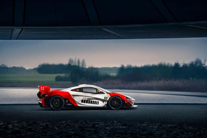 McLaren dévoile une P1 GTR en hommage à Ayrton Senna