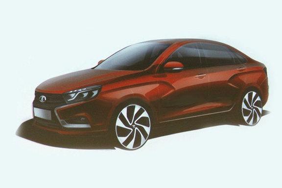 Voici la nouvelle Lada Vesta