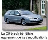 Nouvelle Citroën C5 :      évolution obligatoire