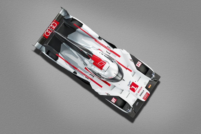 Nouvelle Audi R18 e-tron quattro: c'est elle!