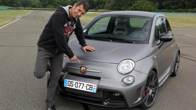 "Les essais de Soheil Ayari :Abarth 695 Biposto : ""hors de prix mais super équilibrée"""