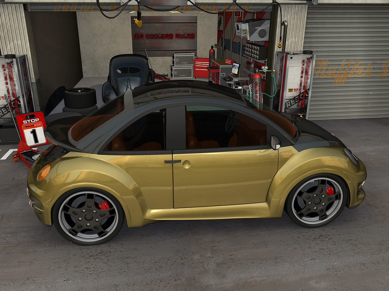 vw new beetle goodwood par jrd tuning bo zolland. Black Bedroom Furniture Sets. Home Design Ideas