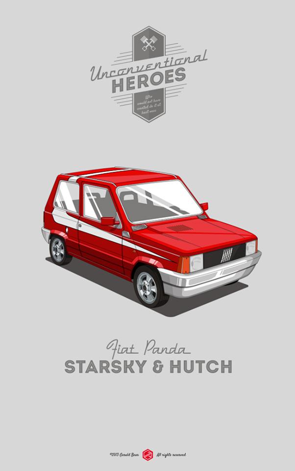 Unconventional Heroes - De l'importance du choix des autos dans le cinéma