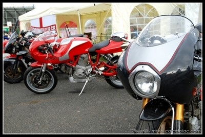 Photos du jour : Ducati 900 Mhe [12 photos]