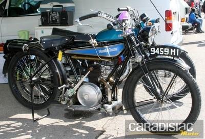 Série C: les motos des origines jusqu'à 1930.