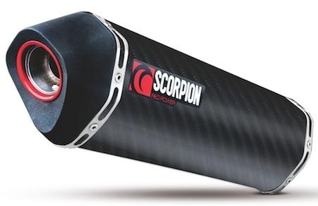 Scorpion: silencieux Serket pour Honda NC700X (ou S)
