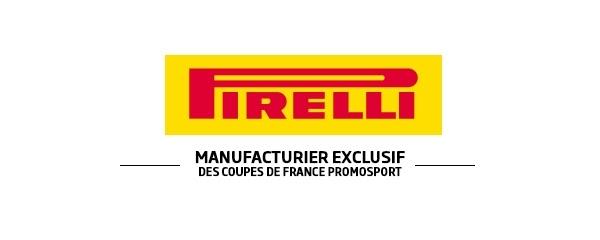 Coupe de France Promosport: Pirelli devient l'unique manufacturier pour 3 saisons