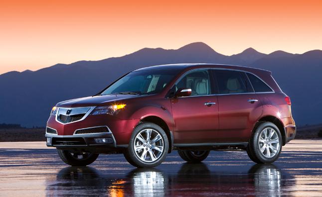 Detroit 2013 : l'Acura MDX Prototype s'annonce