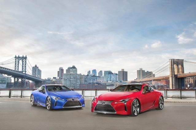 Lexus LC: à partir de 109000€!
