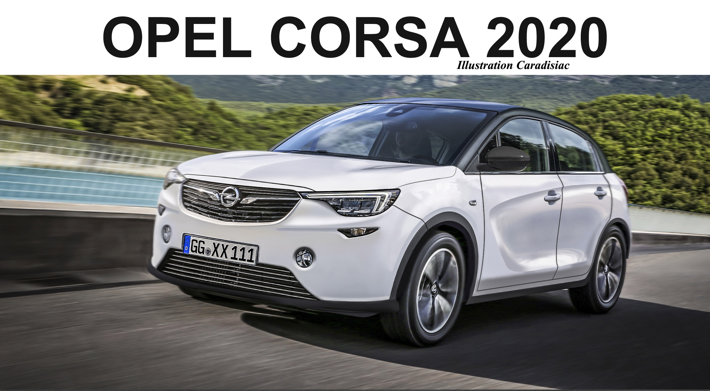 la nouvelle opel corsa arrive en 2020. Black Bedroom Furniture Sets. Home Design Ideas