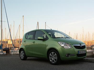 Essai vidéo - Opel Agila : copie de Splash