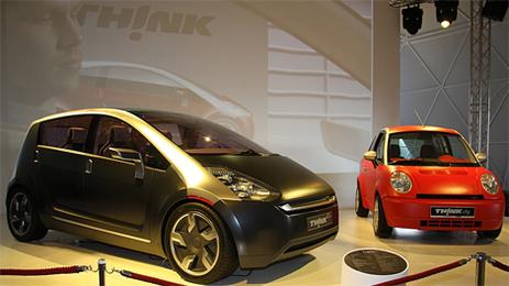 Salon de Genève 2008/THINK Global AS : Think city et Concept Think Ox