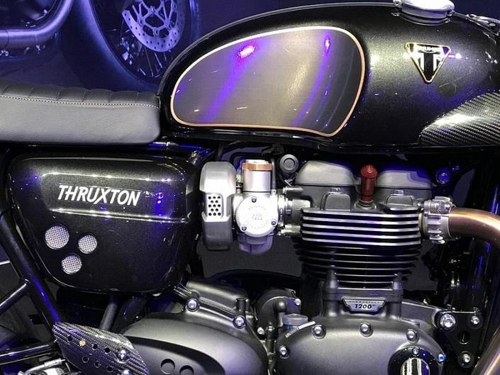 Nouveauté - Triumph: une Thruxton R TFC débusquée?