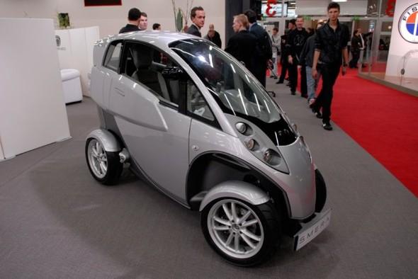 Salon de Genève 2008 : LUMENEO SMERA, un véhicule électrique qui fait des étincelles !