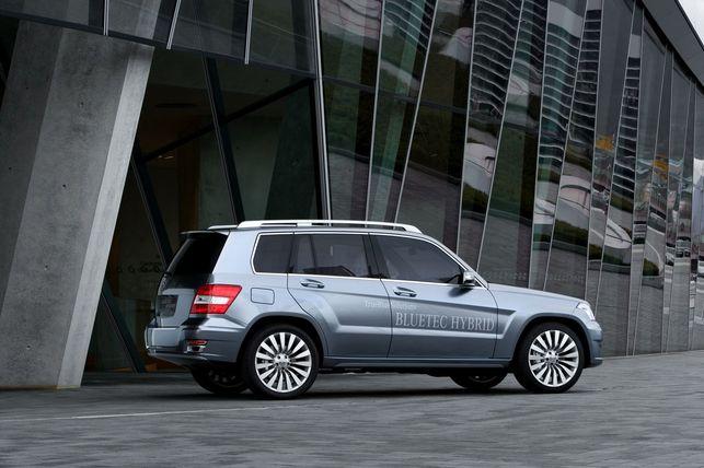 Salon de Genève 2008 : Mercedes Vision GLK BlueTec Diesel Hybrid
