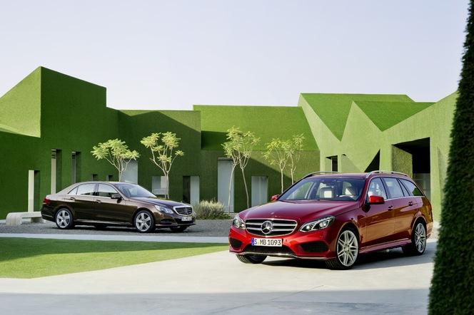 Mercedes Classe E restylée : officielle