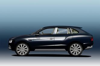 Le futur SUV Bentley modifié pour atteindre 320 km/h