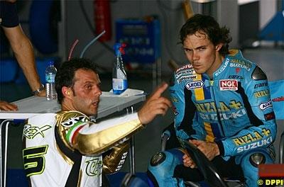 Moto GP: Suzuki ne veut pas encore penser à ses pilotes 2009