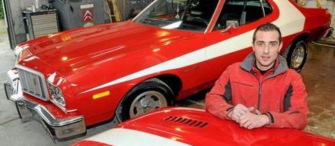Un garagiste français a restauré la voiture de Starsky et Hutch