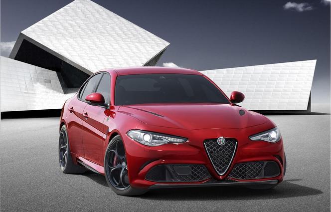 Surprise : l'Alfa Romeo Giulia en fuite