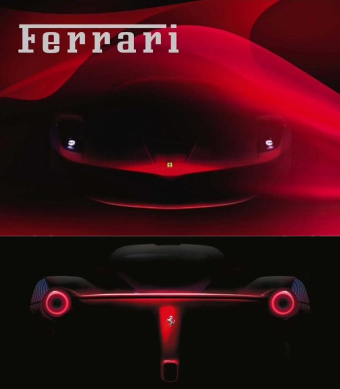 Future Ferrari F70 : et maintenant le postérieur