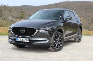 Essai - Mazda CX-5 (2017) : upgrading