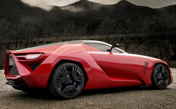 Ring' Folies : la Bertone Mantide dans l'Enfer vert pour battre la Corvette ZR1 ?