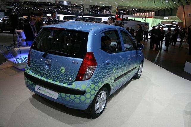 Salon de Genève 2008/Hyundai : i10 blue, i10 blue CNG et i30 blue !