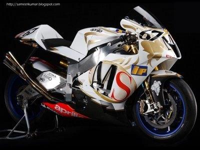 Moto GP: Aprilia reviendra avec un V4