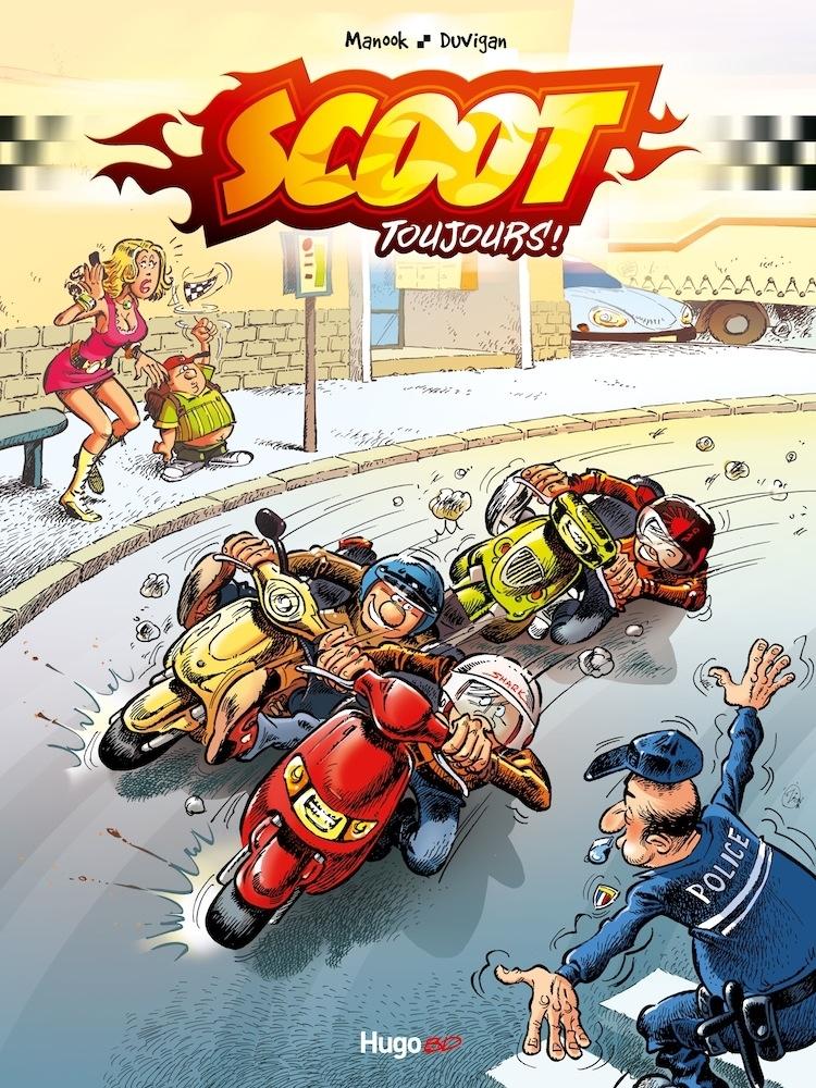 BD/Scooters : Scoot Toujours bientôt en kiosque