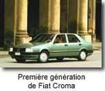 Nouvelle Fiat Croma : premières photos officielles