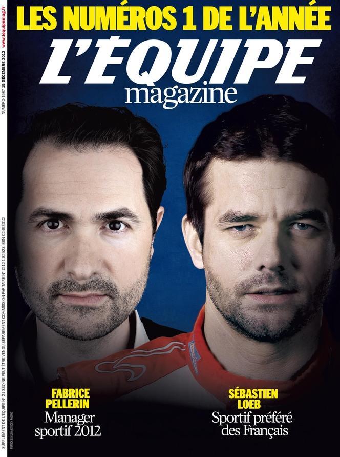 Sébastien Loeb, sportif préféré des Français selon L'Equipe