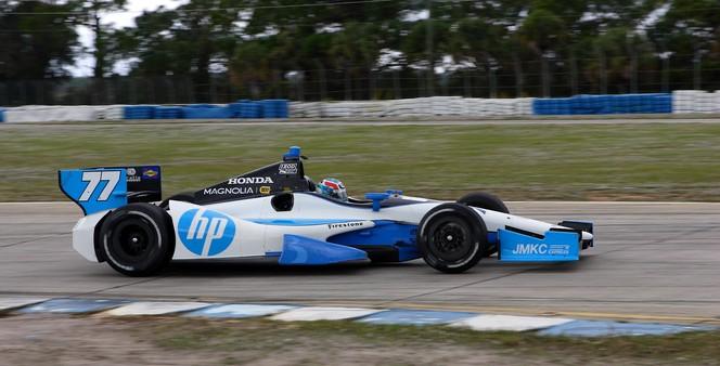 IndyCar - Tristan Vautier impressionnant pour ses 1ers essais