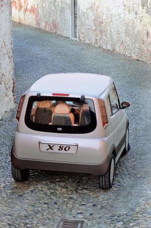 Salon de Genève 2008/Espace Développement : zoom sur le projet de voiture hybride X80, le bébé de Philippe Guédon