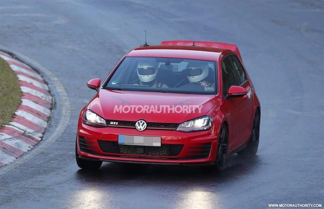 """Surprise : une VW Golf GTI """"Club Sport"""" sur le Nürburgring"""