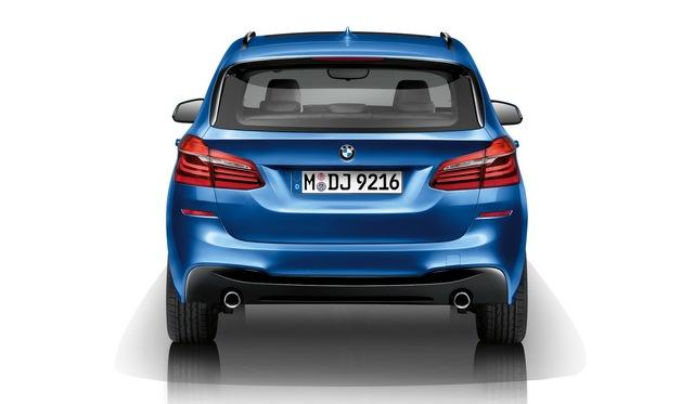 Le BMW Serie 2  Active Tourer s'habille aussi en M Sport