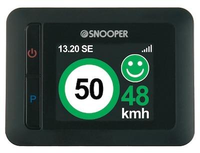Snooper MySpeed... pour savoir à quelle vitesse vous roulez.