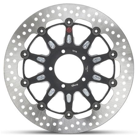 Brembo: deux disques pour la Ducati Scrambler