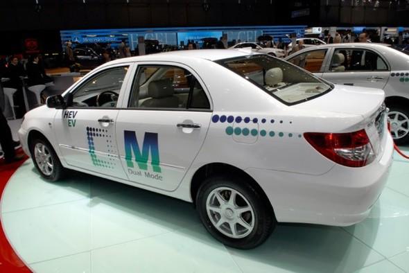 Salon de Genève 2008 : BYD Auto Co. et sa BYD F3DM