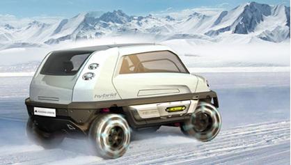Salon de Genève 2008 : Magna Steyr Mila Alpin, le Concept tout-terrain écolo