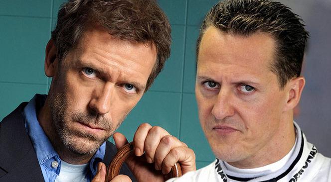 Le Dr House fait une blague sur Schumacher qui passe mal en Allemagne