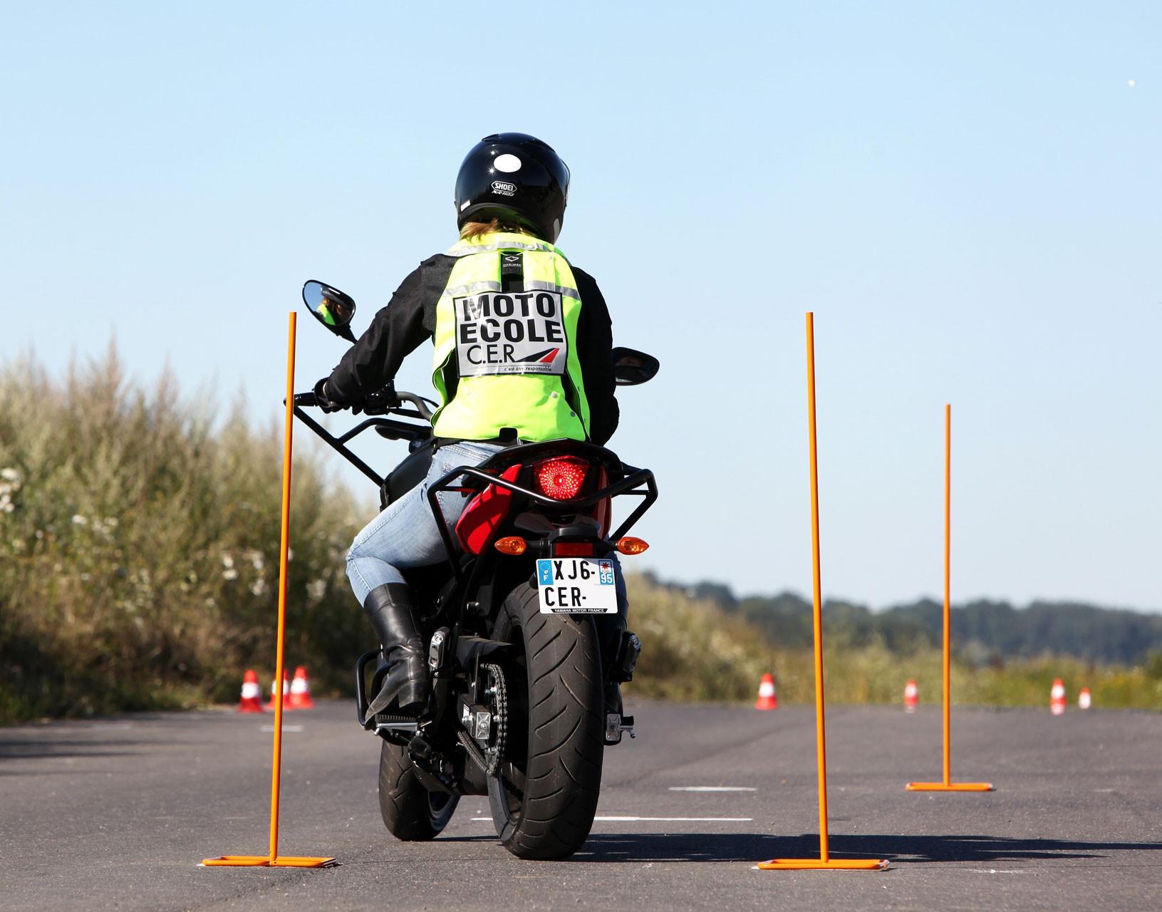 Permis moto cylindrée