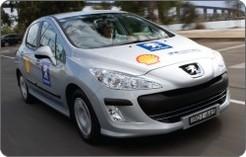 Peugeot Australie/Couple Taylor : 2 records de consommation pour la Peugeot 308 HDi